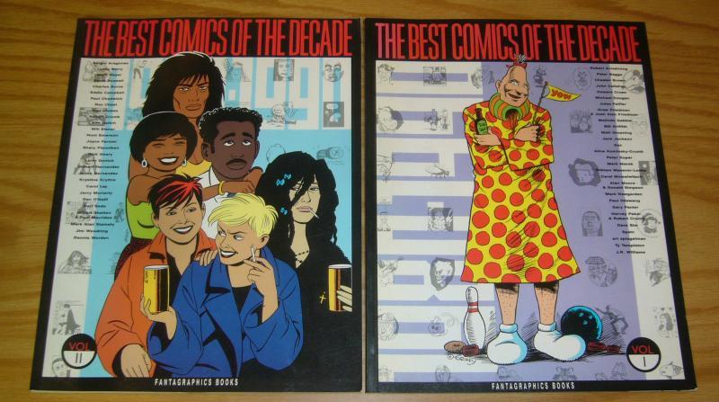 Best Comics of the Decade #1-2 VF/NM complete series - alan moore - robert crumb