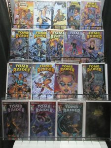 Tomb Raider Lot of 18Diff from Top Cow Sexy Treasure Hunting Adventures