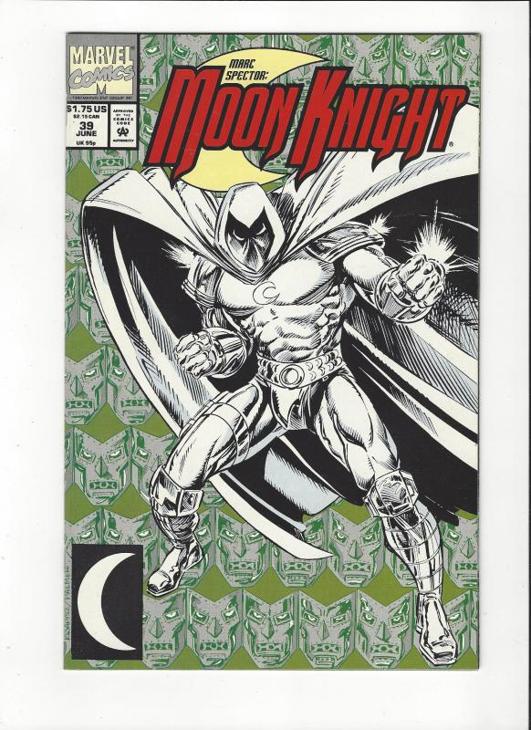 Marc Spector: Moon Knight #39 New Moon Knight NM