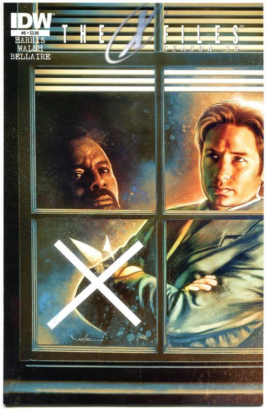 X-FILES #8 Season 10, NM, Fox Mulder, Scully, 2013, Chris Carter, more in store