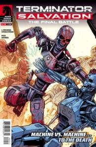 Terminator Salvation: The Final Battle #9, NM + (Stock photo)