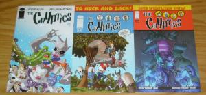 the Cryptics #1-3 VF/NM complete series - dracula - wolfman - mr. hyde  creature