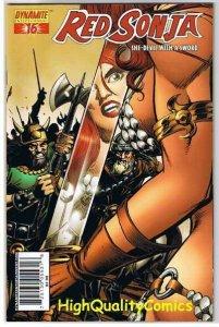 RED SONJA #16, NM, Dick Giordano cv, Robert Howard, 2005, She-Devil w/ Sword