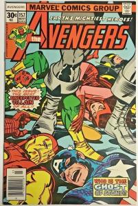 AVENGERS#157 VF 1977 MARVEL BRONZE AGE COMICS