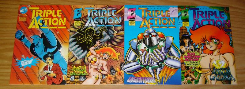 Eternity Triple Action #1-4 VF/NM complete series - gigantor - amazon gazonga