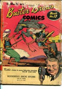 Buster Brown  #17 1940's-Arab cover-adventure-humor-reading copy-P