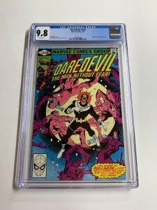 Daredevil 169 Cgc 9.8 White Pages Bronze Age Marvel