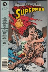2 DC Comic Books The Death of Superman TPB Wasteland # 9 Jurgens Ordway WM6