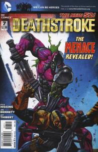 Deathstroke #7 VF/NM; DC | save on shipping - details inside