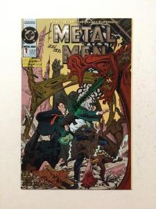 Metal Men 1 Signed By Brett Breeding With C.O.A. NM Near Mint