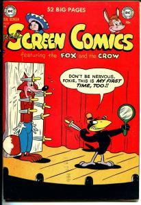 Real Screen Comics #37 1951-DC-Fox & Crow-high grade copy-VF-
