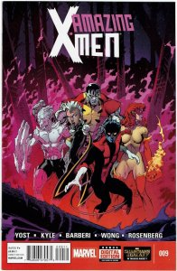 Amazing X-Men #9 (2014 v2) Alpha Flight Firestar NM