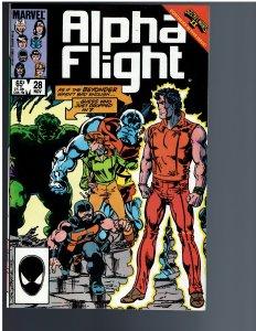 Alpha Flight #28 (1985)
