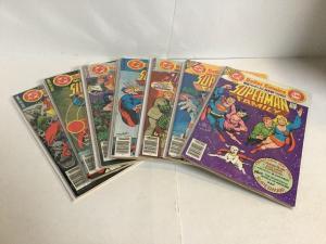 Superman Family 182-187 189 Fn/Vf-Vf/Nm 7.0-9.0