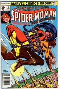 SPIDER-WOMAN #8, VF/NM, Man who couldn't DiE, 1978, Carmine Infantino
