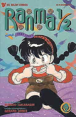 Ranma 1/2 Part 3 #9 VG; Viz | low grade comic - save on shipping - details insid