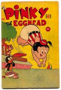 Pinky the Egghead #2 1963- Strange humor comic Book VG-