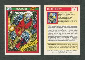 1990 Marvel Comics Card  #83 (Deathlok) / MINT