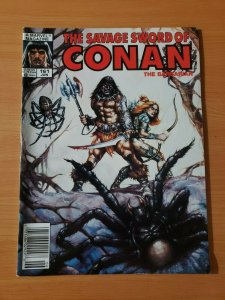 The Savage Sword of Conan #161 ~ VERY FINE - NEAR MINT NM ~ 1989 Marvel Comics