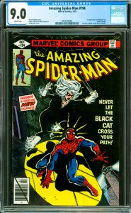 Amazing Spider-Man #194 CGC Graded 9.0 1st appearance of the Black Cat (Felic...