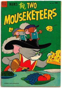 MGM's THE TWO MOUSEKETEERS (4 COLOR #475) [June 1953] 5.0VG/FN H.Eisenberg art!