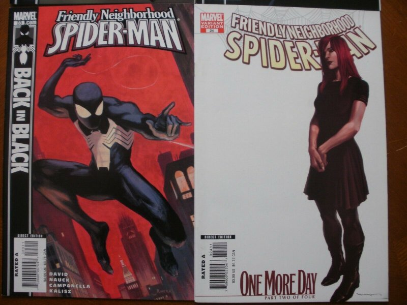 4 Near-Mint Marvel Comic: FRIENDLY NEIGHBORHOOD SPIDER-MAN #21 22 23 24 Variant