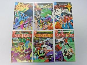 Sun Devils set #1 to #12 8.0 VF 12 different books (1984)
