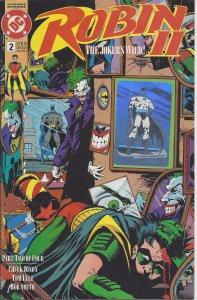 Robin II #2: The Joker's Wild (1991) - Batman- hologram on cover - DC Comics