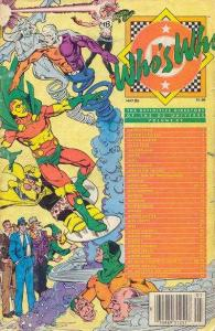 Who's Who: The Definitive Directory of the DC Universe #15, VF+ (Stock p...
