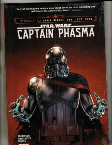 Star Wars Captain Phasma Marvel Comic Book HARDCOVER Graphic Novel SEALED J346