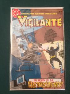 Vigilante #8 The Return of the ELECTROCUTIONER!