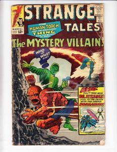 Strange Tales #127 VG- doctor strange by stan lee  steve ditko 1ST MINDLESS ONES
