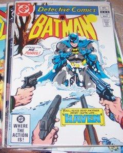 DETECTIVE COMICS  # 514 BATMAN  1981 DC MAXIE ZUES + SOLO BATGIRL  STORY
