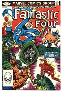 Fantastic Four #246-comic book-Doctor Doom-Marvel 1981 NM-
