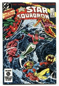 All-Star Squadron #34 1984 Freedom Fighters issue DC comic book