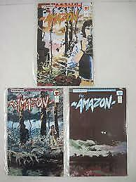 AMAZON (1989 C) 1-3 Seagle/Tim Sale Slings & Arrows Pic