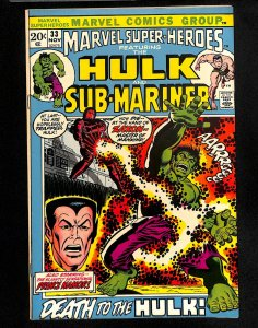 Marvel Super-Heroes #33