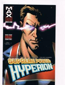 Supreme Power: Hyperion # 1 Marvel Comic Books Hi-Res Scans Awesome Issue!!! S17