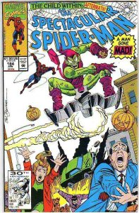 Spider-Man, Peter Parker Spectacular #184 (Apr-92) NM/NM- High-Grade Spider-Man