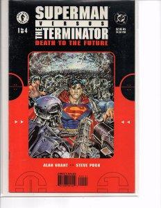 DC/Dark Horse Comics Superman vs Terminator Death to the Future #1