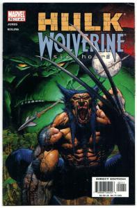 Hulk Wolverine Six Hours #1 (Marvel, 2003) VF