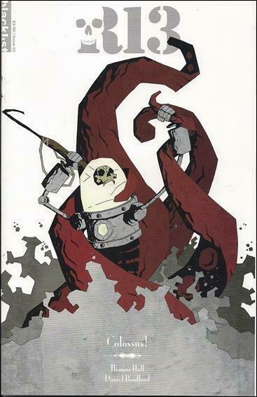 Robot 13 #1C FN; Blacklist Studios   save on shipping - details inside
