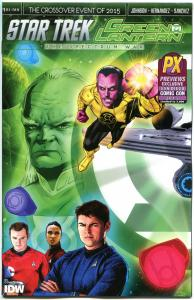 STAR TREK GREEN LANTERN #1, NM, 2015, Exclusive, Variant, more SDCC in store