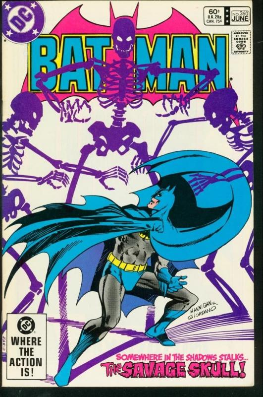 BATMAN #360-1983-DC VF