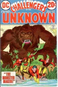 CHALLENGERS OF THE UNKNOWN 79 VF April 1973 COMICS BOOK