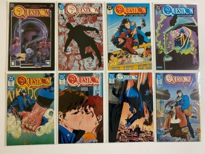 Question lot #1-30 + 2 Annuals DC 1st Series 18 pieces average 8.0 VF (1987-'89)
