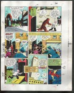 Hand Painted Color Guide-Capt Marvel-Shazam-C35-1975-DC-page 20-Mr Tawney-VG