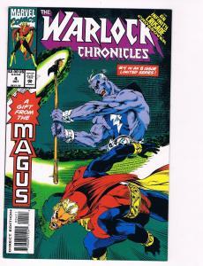 The Warlock Chronicles # 4 Marvel Comic Books Magus Thanos Drax Infinity!!!! S51
