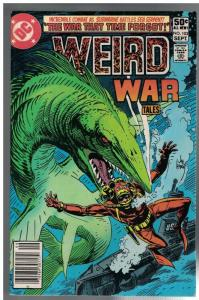 WEIRD WAR TALES (1972) 103 FN Sept. 1981