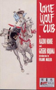 Lone Wolf and Cub (1987 series) #8, VF+ (Stock photo)